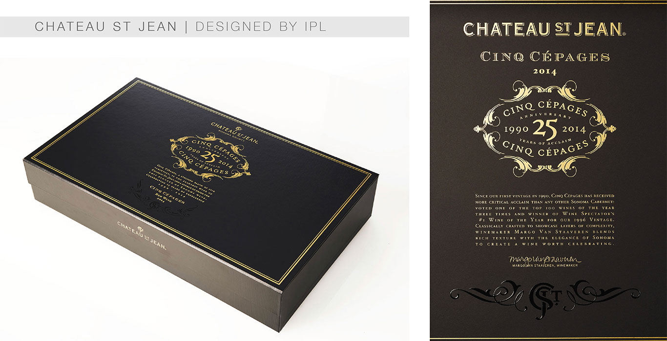 Chateau St Jean - IPL Packaging