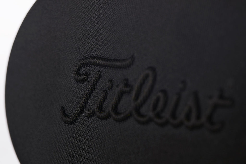 Tactile packaging for Titleist