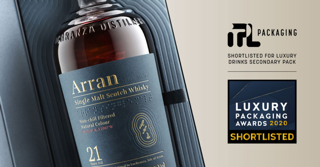 Arran Luxury Packaging Awards finalist
