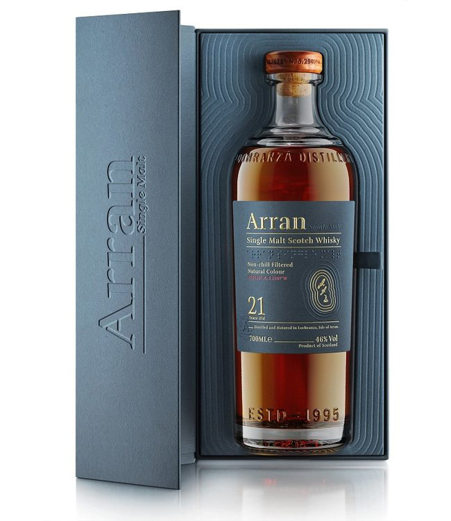 Arran 21 year old single malt