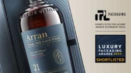 Arran Luxury Packaging Awards finalist