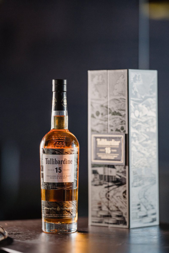 TULLIBARDINE 15YO – A Luxury Packaging Awards Finalist