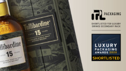 TULLIBARDINE 15YO – A Luxury Packaging Awards Finalist