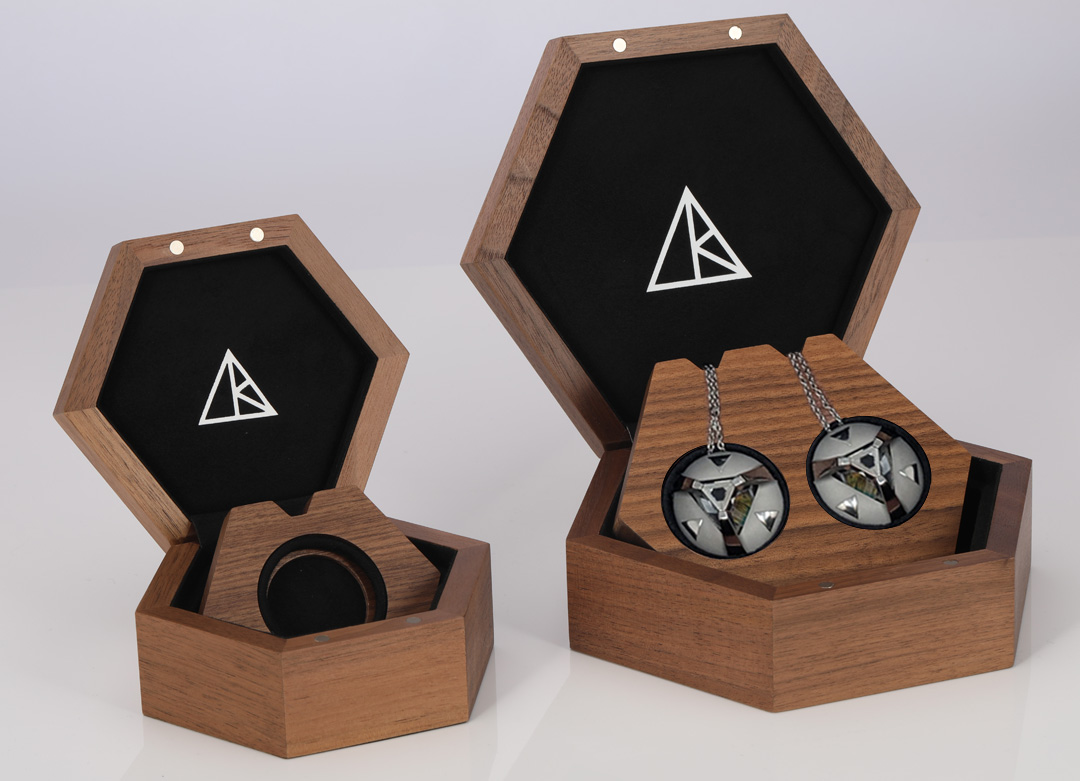 ARK wearable tech jewellery by IPL Packaging