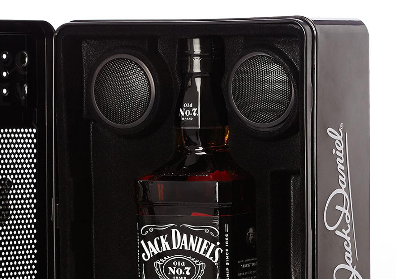 Jack Daniel's music tin